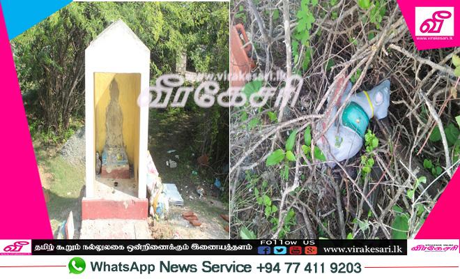 இரண்டு பிள்ளையார் சிலைகள் உடைப்பு : மூன்று பிள்ளையார் சிலைகள் திருடல் : மன்னாரில் சம்பவம்