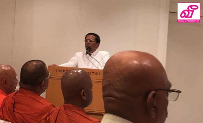 ஜனாதிபதியுடன் ஞானசார தேரர் ஜப்பான் செல்லவில்லை :ஜனாதிபதி ஊடக பிரிவு