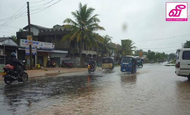 வவுனியாவில் தொடர் மழை காரணமாக 05 வீடுகள் சேதம்: 21 பேர் பாதிப்பு